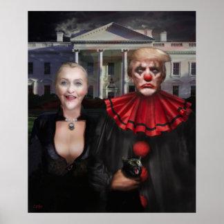 Poster Gothique politique