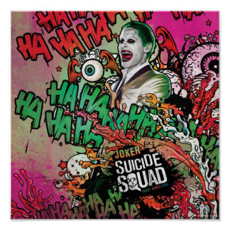 Poster Graffiti de caractère de joker du peloton | de