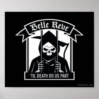 Poster Graphique de Reve Reaper de belle du peloton | de