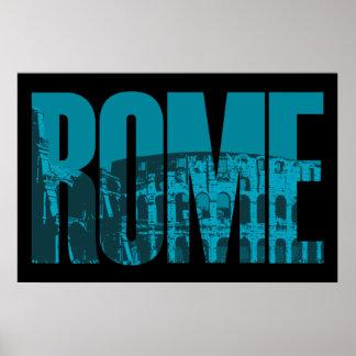 Poster Graphique de Rome