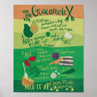 Poster Guacamole de Nom Nom Nom !