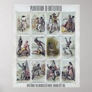 Poster GUERRE CIVILE : de la plantation au champ de