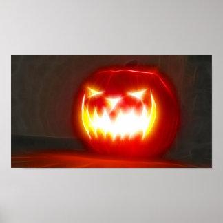 Poster Halloween heureux 3,1 aucun texte