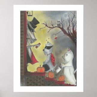Poster Halloween Insecte-un-Hue la copie