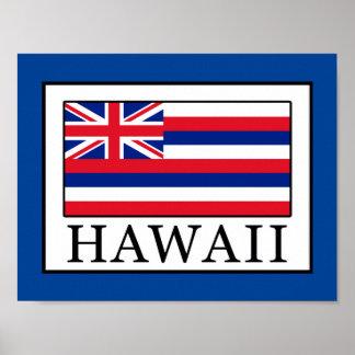 Poster Hawaï