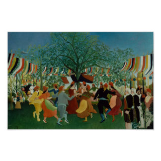 Poster Henri Rousseau - un Centennial de l'indépendance