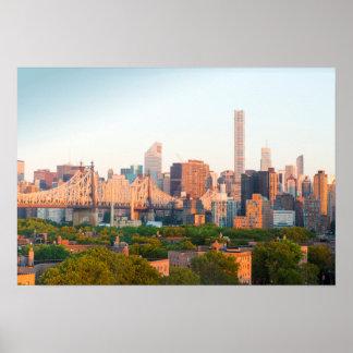 Poster Horizon de Manhattan