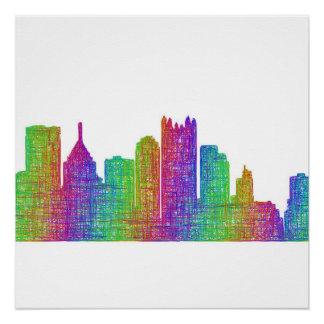 Poster Horizon de Pittsburgh