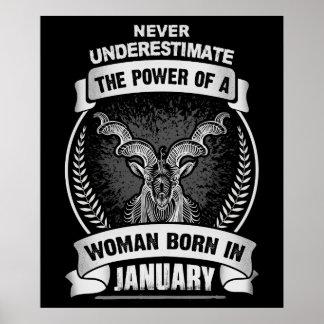 Poster Horoscope janvier