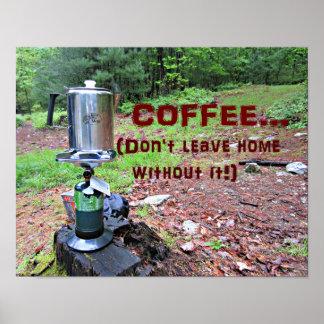 Poster Humour de café