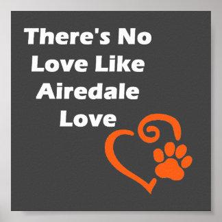 Poster Il n'y a aucun amour comme l'amour d'Airedale