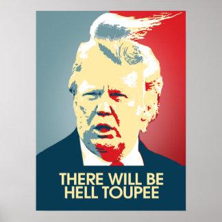Poster Il y aura postiche d'enfer - propagande