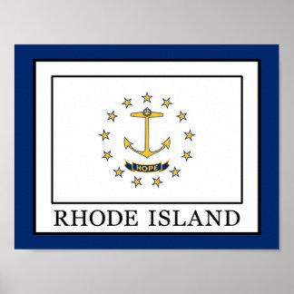 Poster Île de Rhode