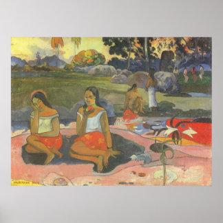 Poster Impressionisme par Gauguin, somnolence délicieuse
