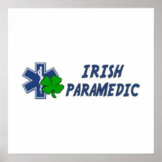 Poster Infirmier irlandais