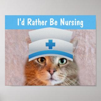 Poster Infirmière Rupie inspiré