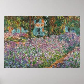 Poster Iris par Monet