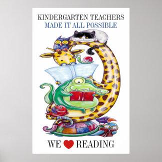 Poster Jardin d'enfants-Choisissez-Taille-nous aiment