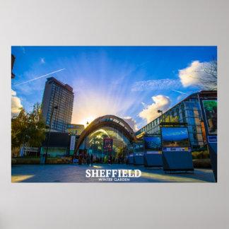 Poster Jardin d'hiver de Sheffield