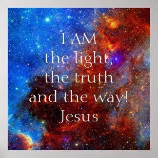 Poster Jésus-Christ je suis