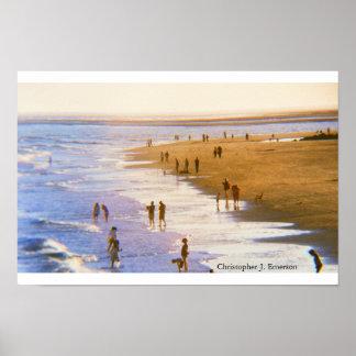 Poster Jour à la plage