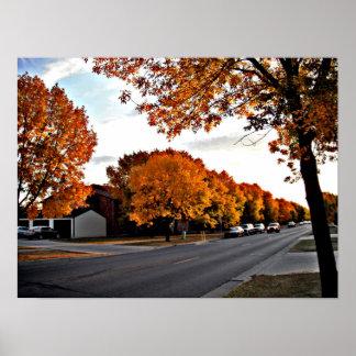 Poster Jour d'automne dans Fargo