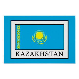 Poster Kazakhstan
