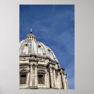 Poster La basilique de St Peter (Basilica di San Pietro)