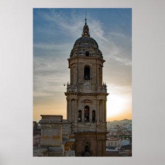 Poster La cathédrale de Malaga
