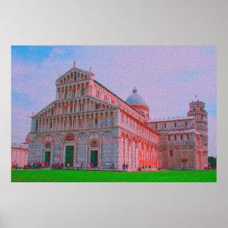 Poster La cathédrale de Pise
