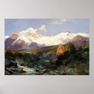 Poster La chaîne de Teton