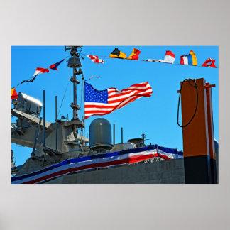 Poster La commission d'USS Detroit