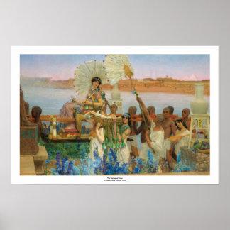 Poster La conclusion du ~ (précis) Alma-Tadema de Moïse