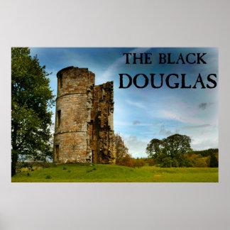 Poster La Douglas noire
