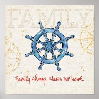 Poster La famille côtière de la citation | m'oriente