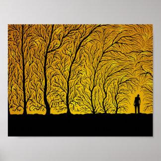 Poster La forêt chuchote (affiche de couleur 1)