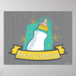 Poster La formule secrète du bébé | de patron