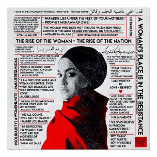 Poster La hausse de la femme/de El Ascenso de la Mujer