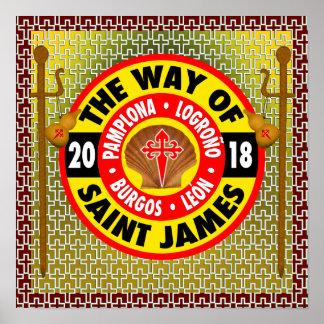 Poster La manière de St James 2018