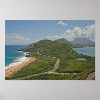 Poster La meilleure vue dans St Kitts