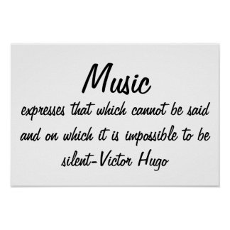 Poster La musique exprime…