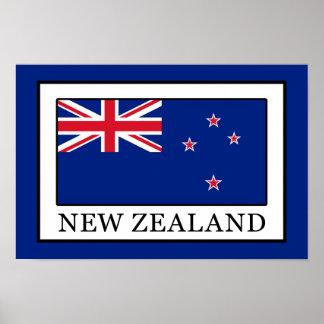 Poster La Nouvelle Zélande