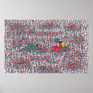 Poster Là où est la terre de Waldo | de Waldos