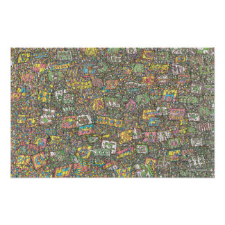 Poster Là où est les chevaliers de Waldo | du magique