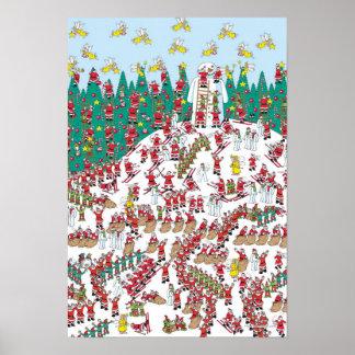 Poster Là où est les fées de vacances de Waldo | et les
