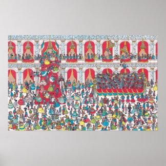 Poster Là où est Waldo | ayant une boule
