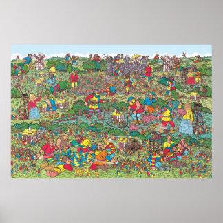 Poster Là où est Waldo | Giants peu amical