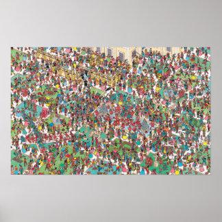 Poster Là où est Waldo | Muskeeters fanfaron