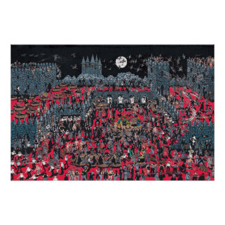 Poster Là où est Waldo | Nasties méchant