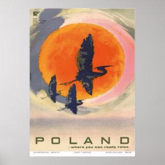 Poster La Pologne : Là où vous pouvez vraiment détendre,